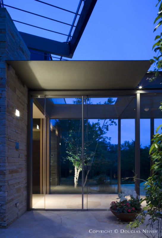 The Gardens and the Endless View of the Topography Become Apparent As One Approaches the Entrance of This Glen Abbey Home