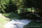A Graded Path Leading Down to White Rock Creek at Glen Abbey Estate Property