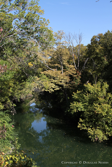 White Rock Creek Running Through Property in Glen Abbey Gated Neighborhood
