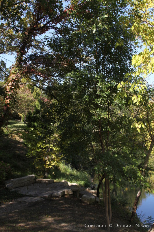 Path to Creek on Glen Abbey Property