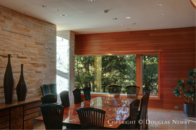 Dining Room in Glen Abbey Modern Estate