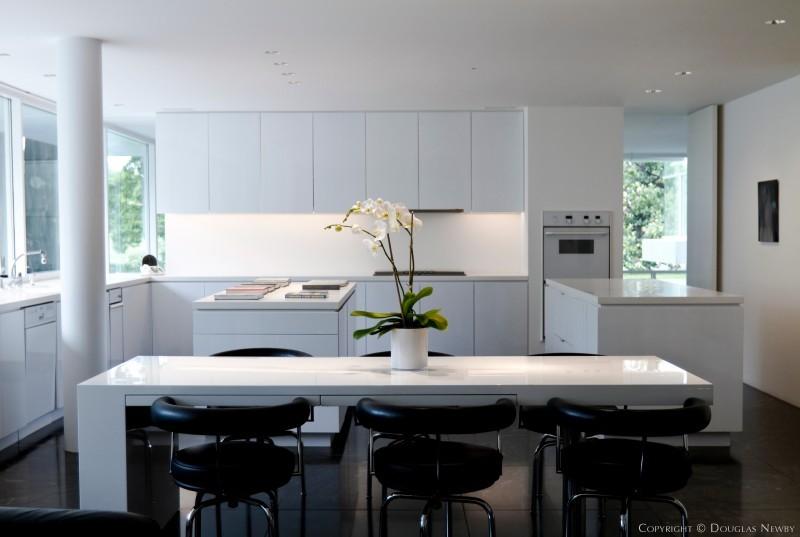 richard meier modern designed home in preston hollow addition - Richard Meier Homes