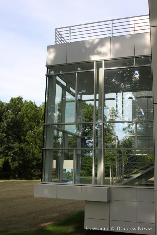Richard Meier Modern Home Built In The 1990s Photograph 9451