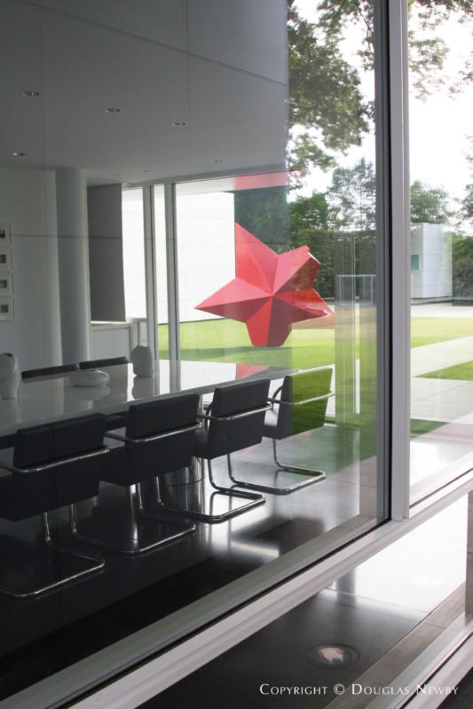Richard Meier Modern Home Built In The 1990s Photograph 9452