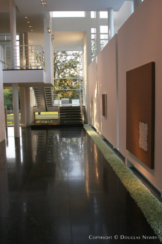 Richard meier modern designed home in preston hollow addition photograph 9455 - Newby house interiors ...