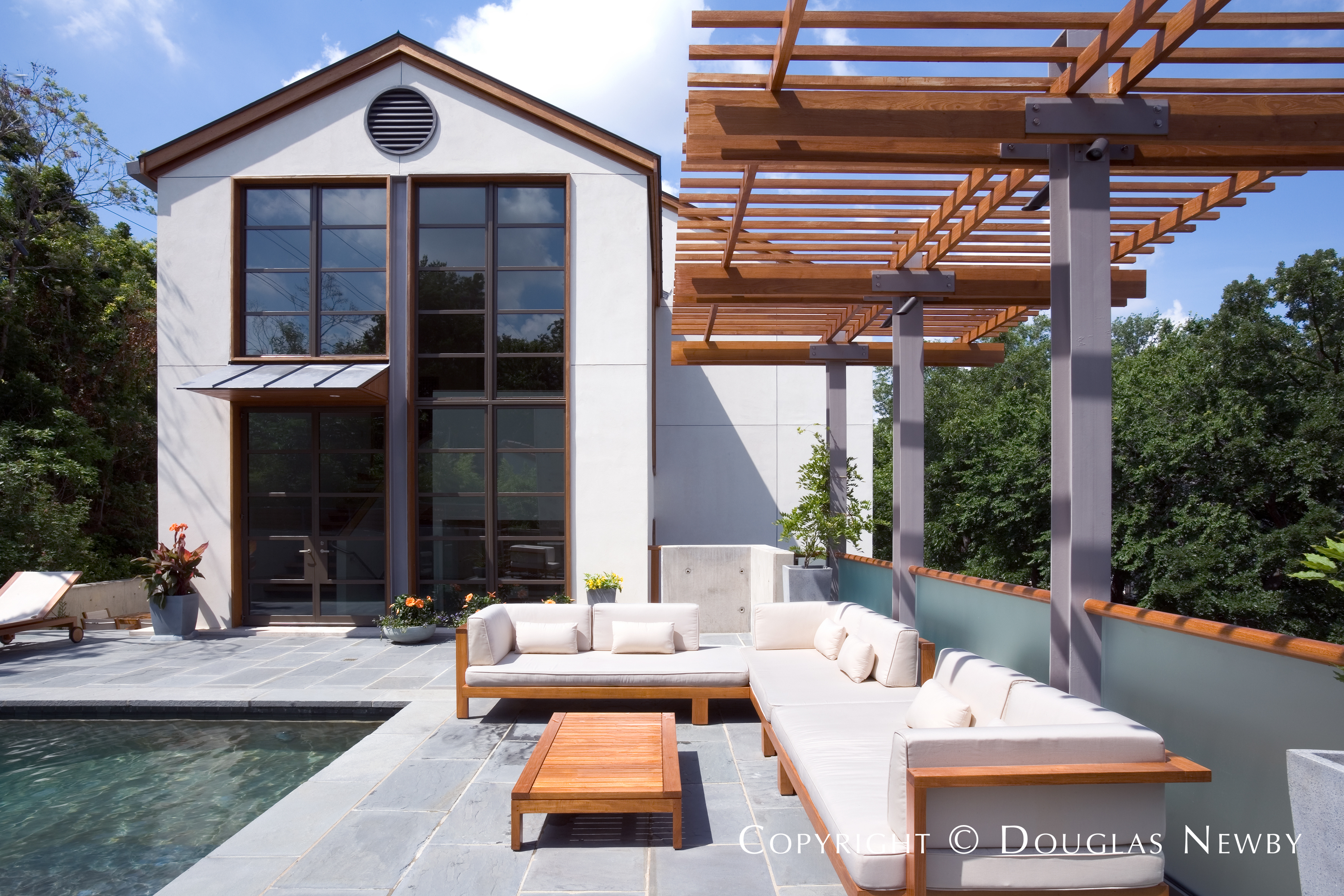 Frank Welch Modern Home built in the 2000s