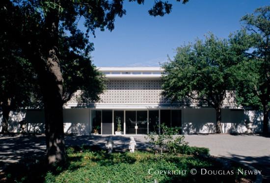 Architect Edward Durell Stone Designed Mid-Century Modern Home