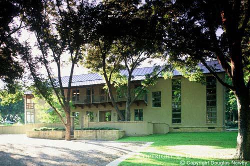 Texas Modern West Lawther Drive Neighborhood Home