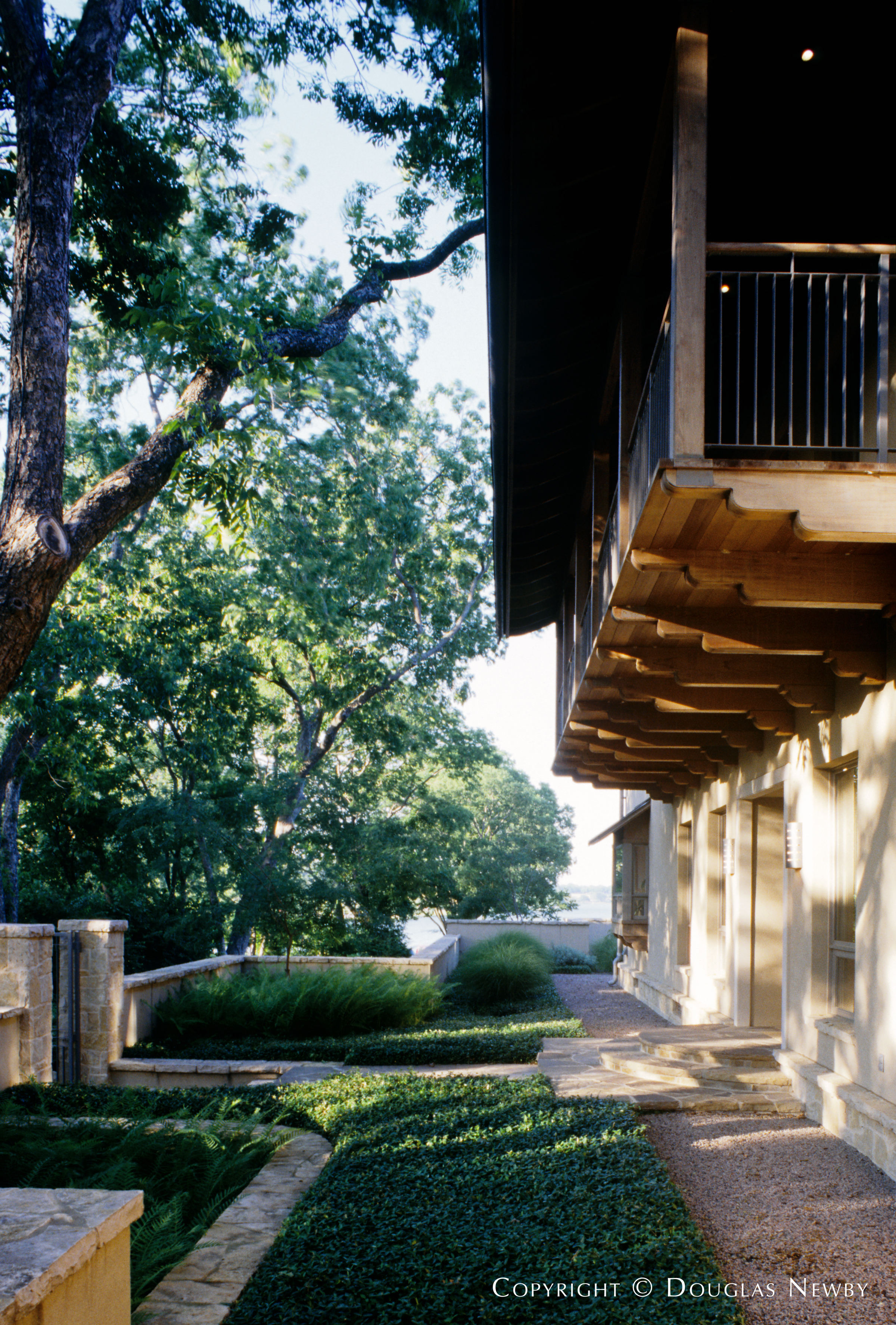 Texas Modern White Rock Lake Neighborhood Home