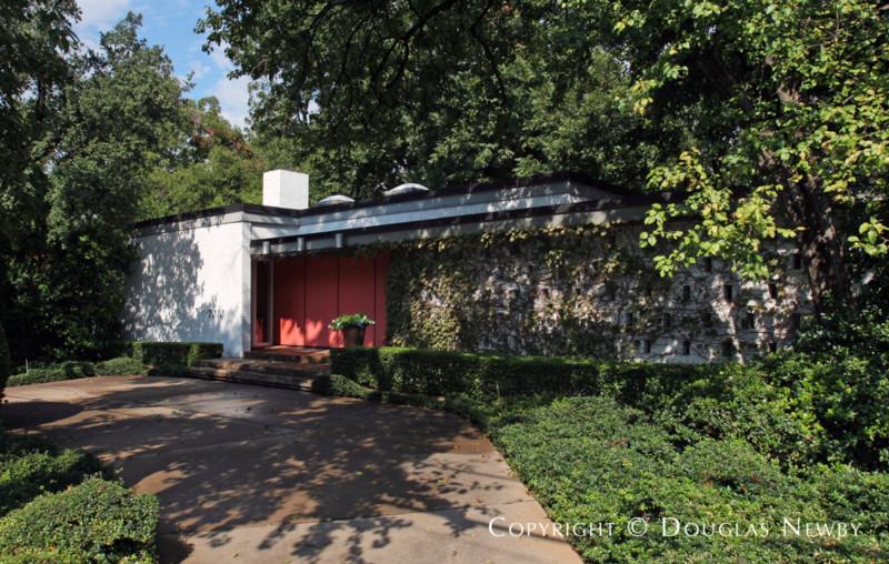 Architect Glenn Allen Galaway Designed Home in University Park