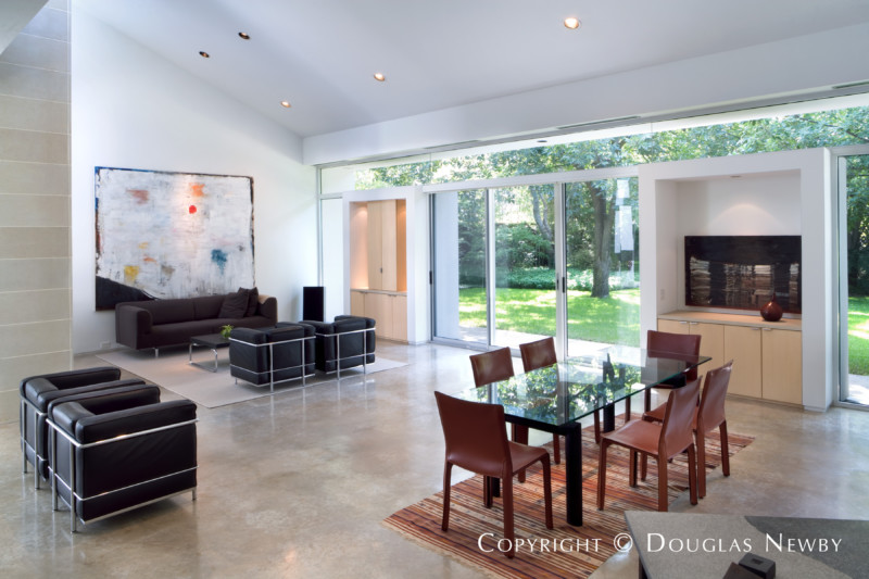 Lionel Morrison Modern Designed Home in Maywood Estates