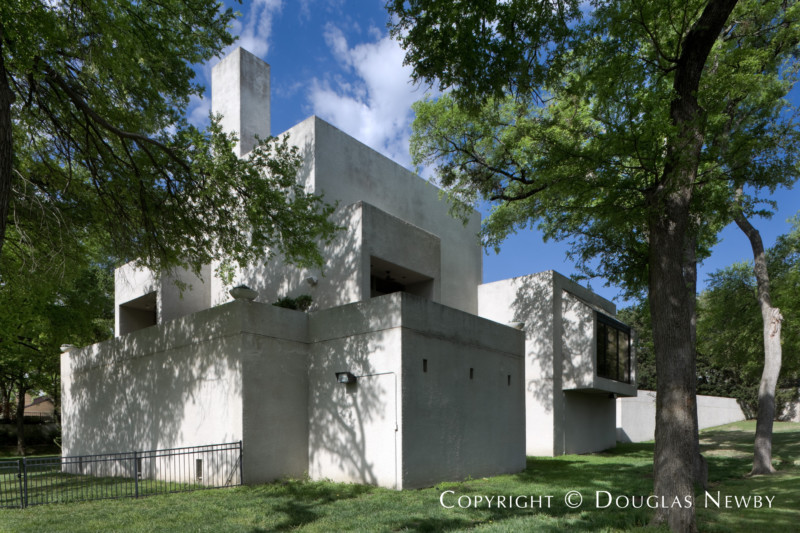 Modern Architecture Dallas architect frank welch designed highland park contemporary homes