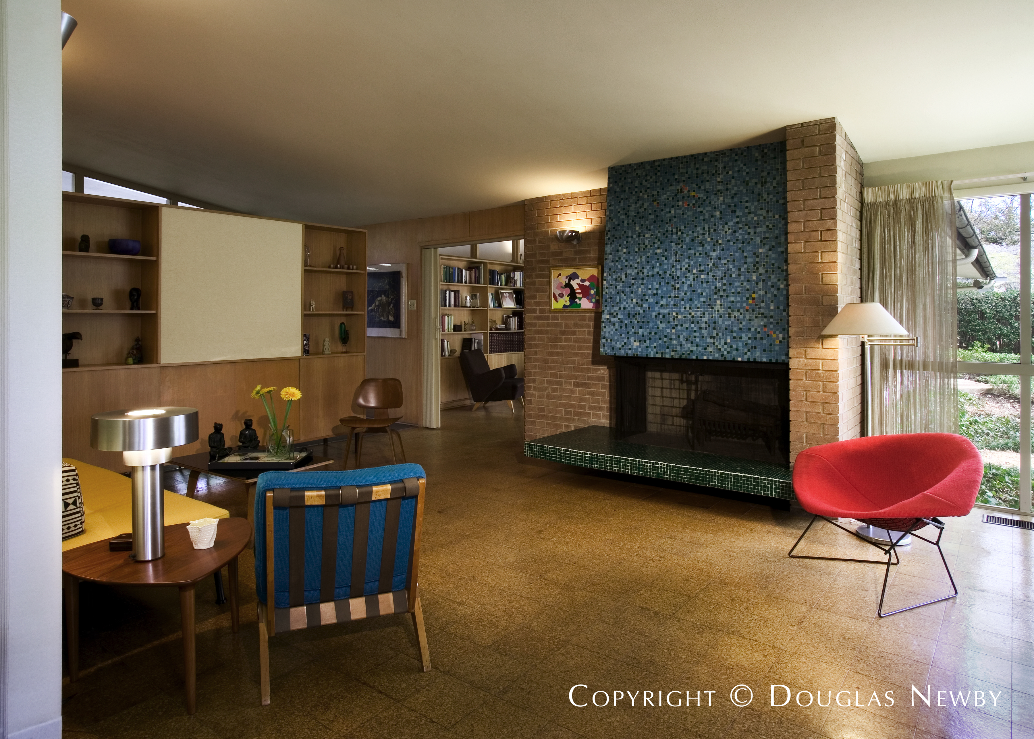 William Benson Mid-Century Modern Home built in the 1950s