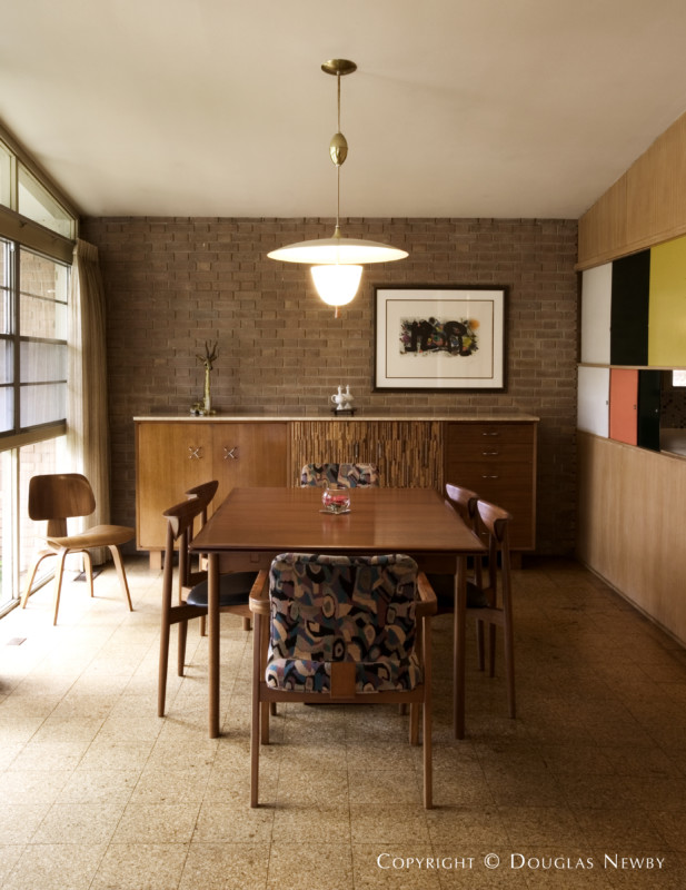 Mid century modern real estate in preston hollow photograph 7525 - Newby house interiors ...