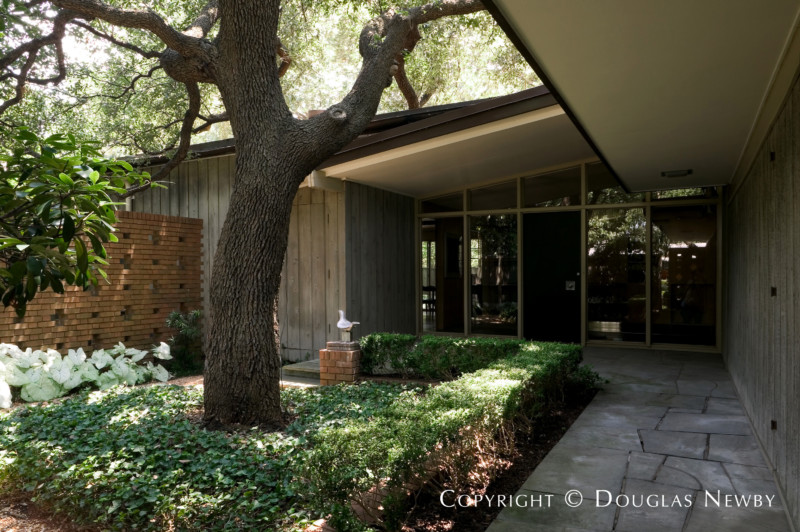 Dallas Texas Mid Century Modern Home Photograph 7507