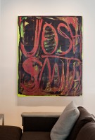 Modern Art Displayed in Derek and Christen Wilson's Contemporary Home - 2013 Spring Collection