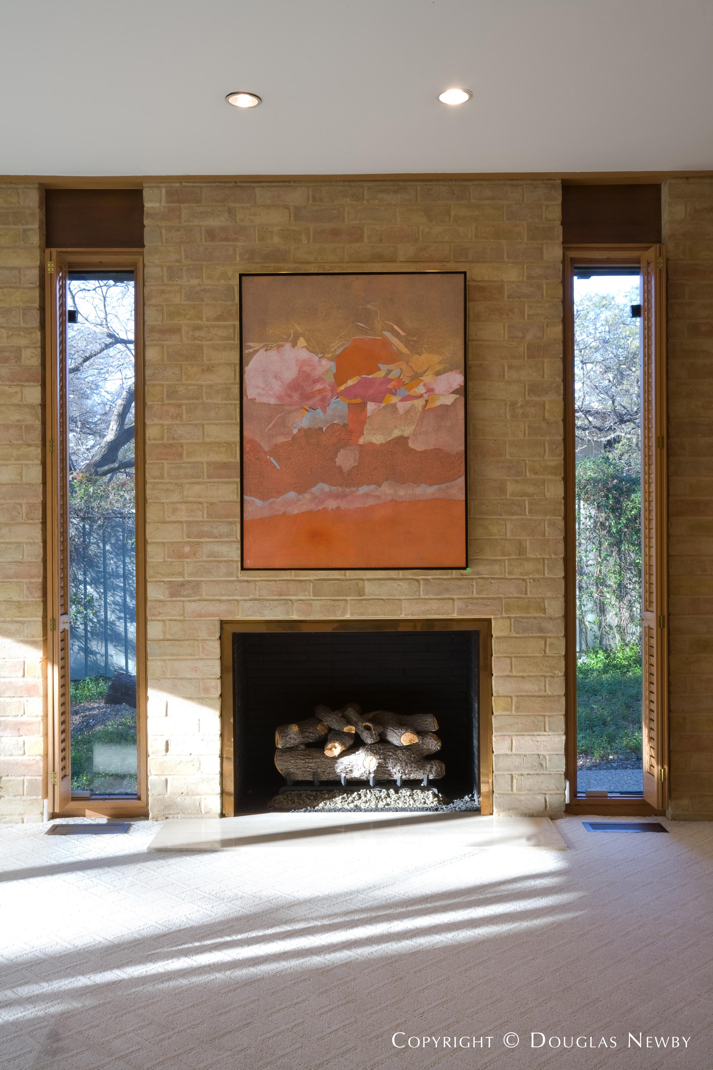 Preston Hollow Texas Modern Home sitting on 2.632 Acres