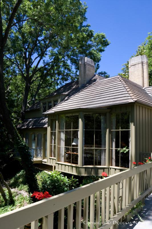 Architect Robert Johnson Perry Designed Home in Preston Hollow