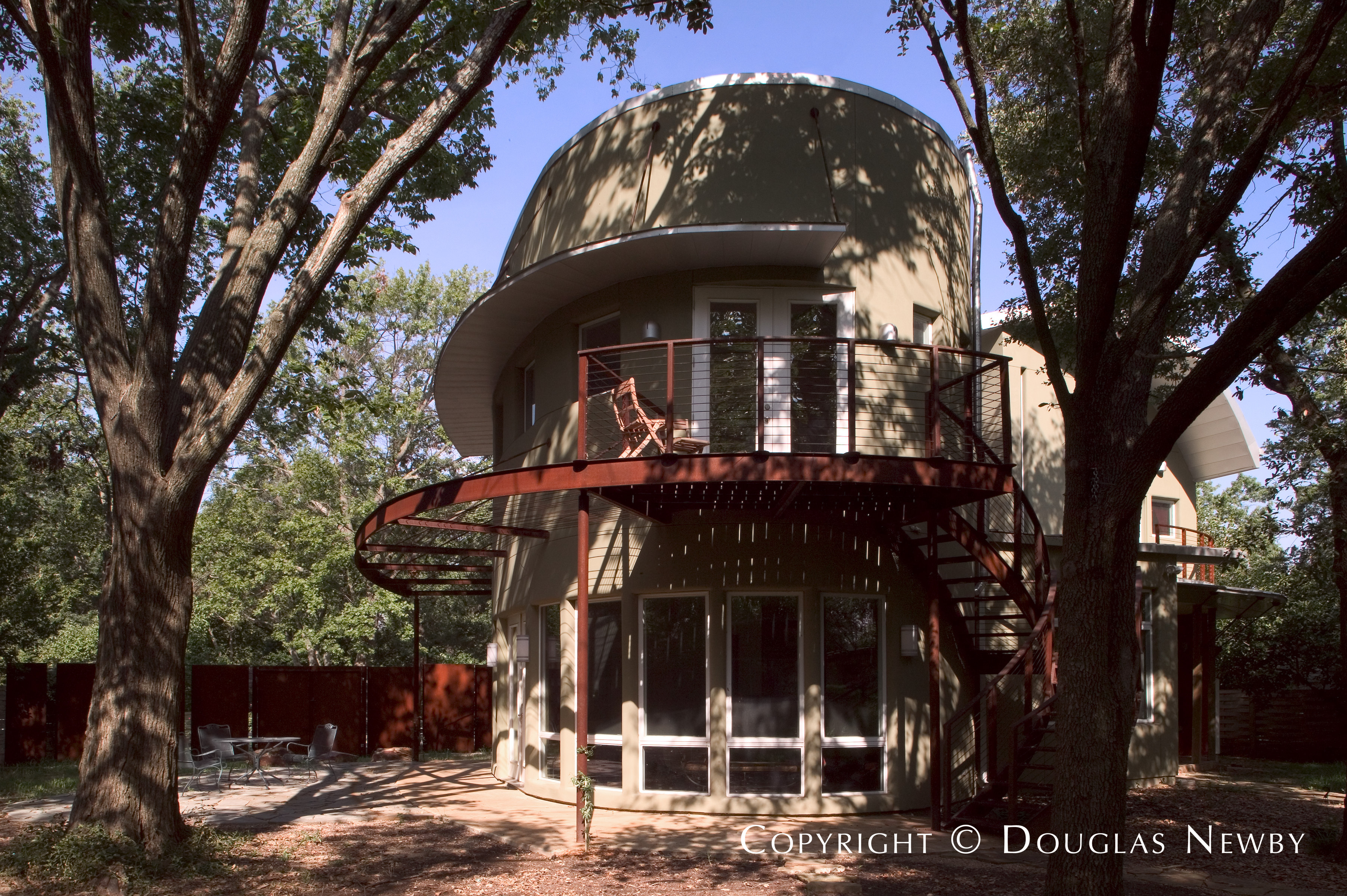 Architect Gary Gene Olp Designed Green Home in Bluffview Area