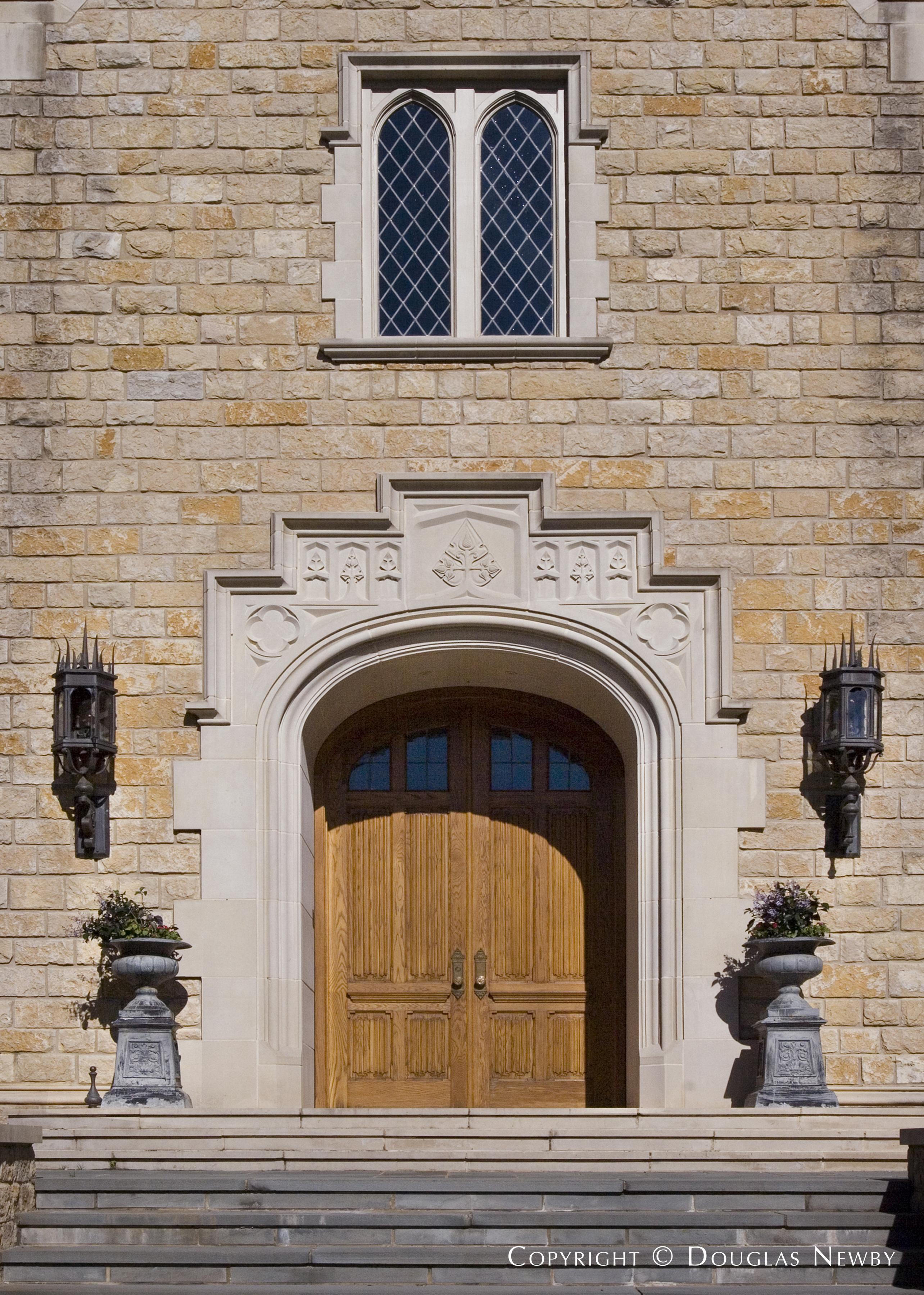 Architect Larry Boerder Designed Edwardian Home in Preston Hollow