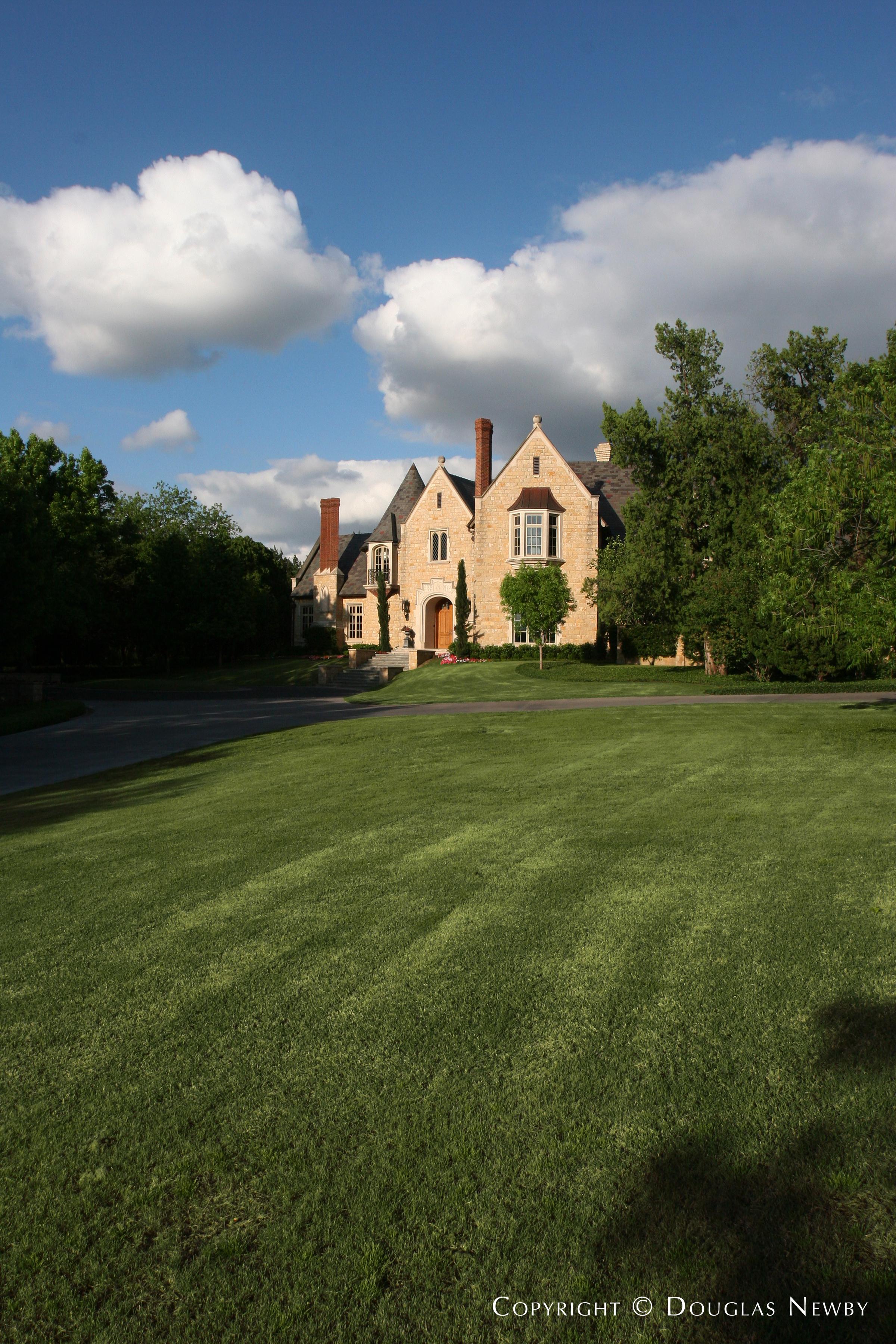 Preston Hollow Home sitting on 5.3 Acres