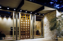 Significant Texas Modern Estate Home Designed by Architect Scott Lyons - 3711 Lexington Avenue