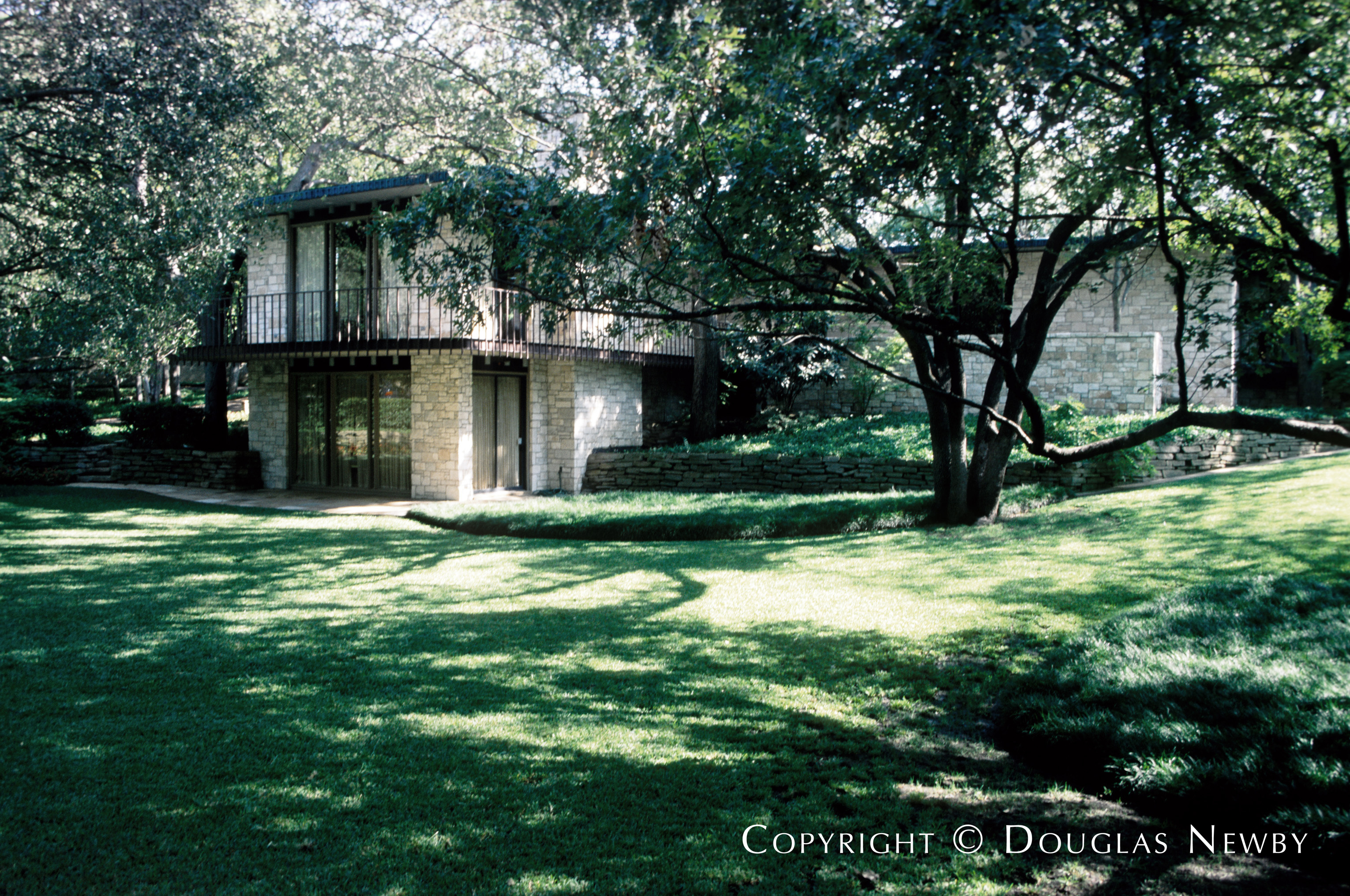 Scott Lyons Texas Modern Designed Home in First Section of Old Highland Park