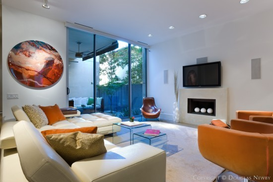 Sharon Odum Designed Modern Home