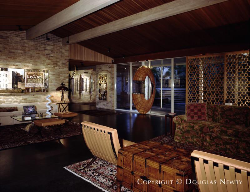 Preston Hollow Mid-Century Modern Home sitting on 1.77 Acres