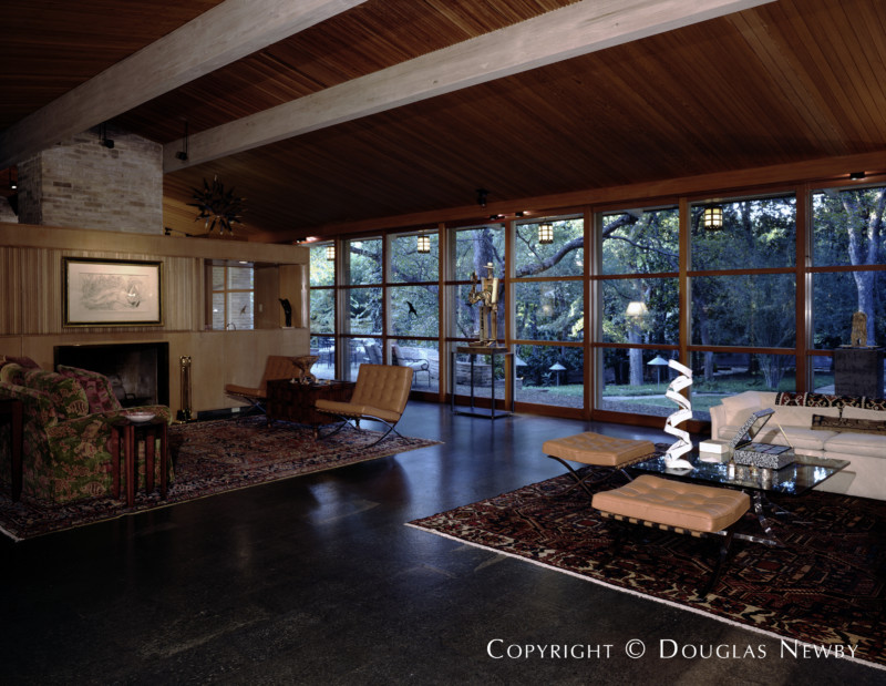 O'Neil Ford Designed Mid-Century Modern Home