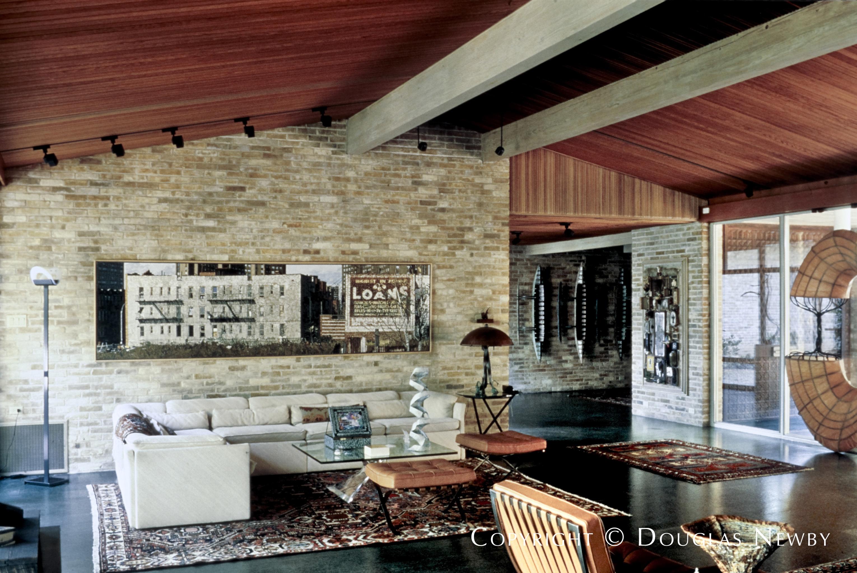 O'Neil Ford Designed Home