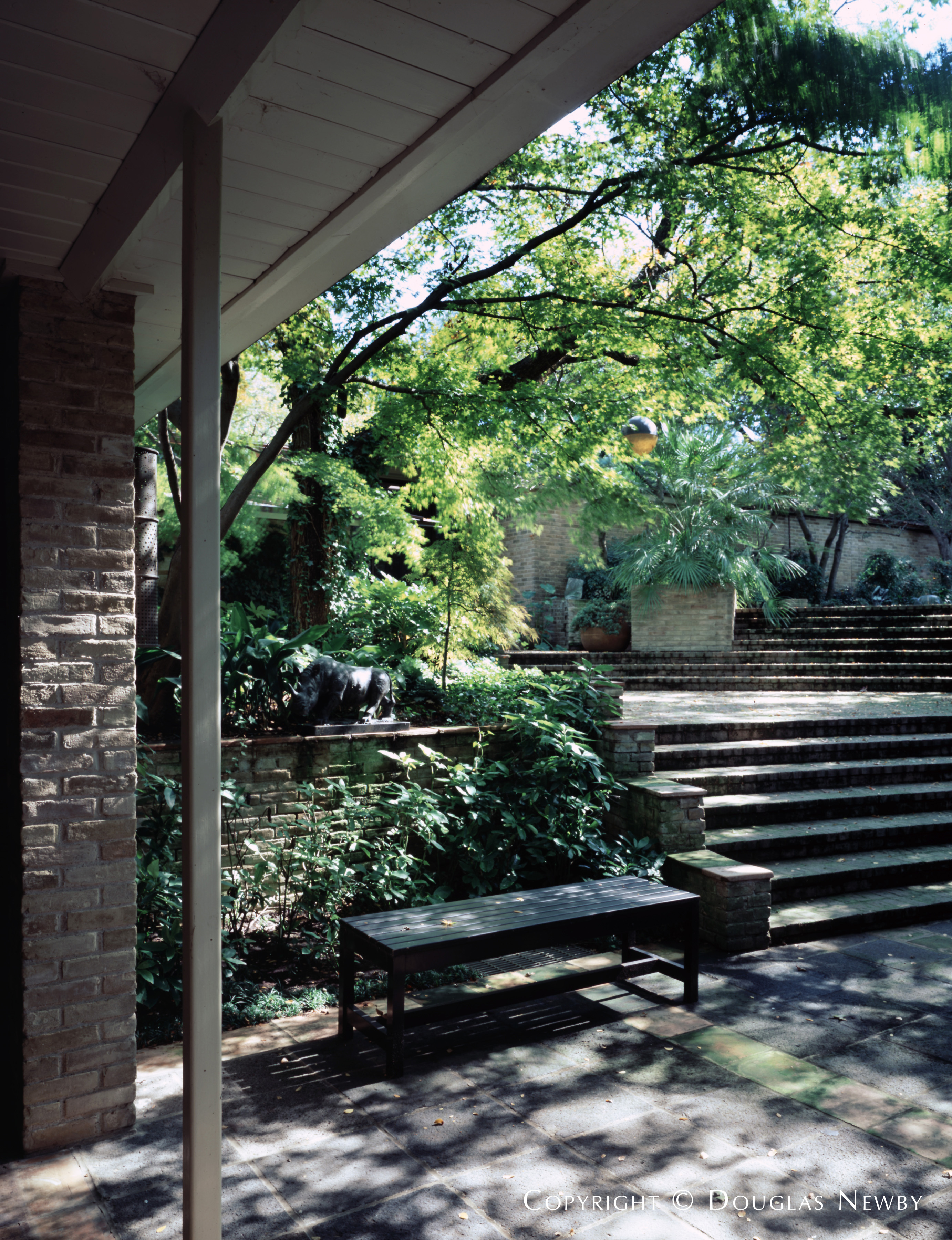 Architect O'Neil Ford Designed Home in Preston Hollow