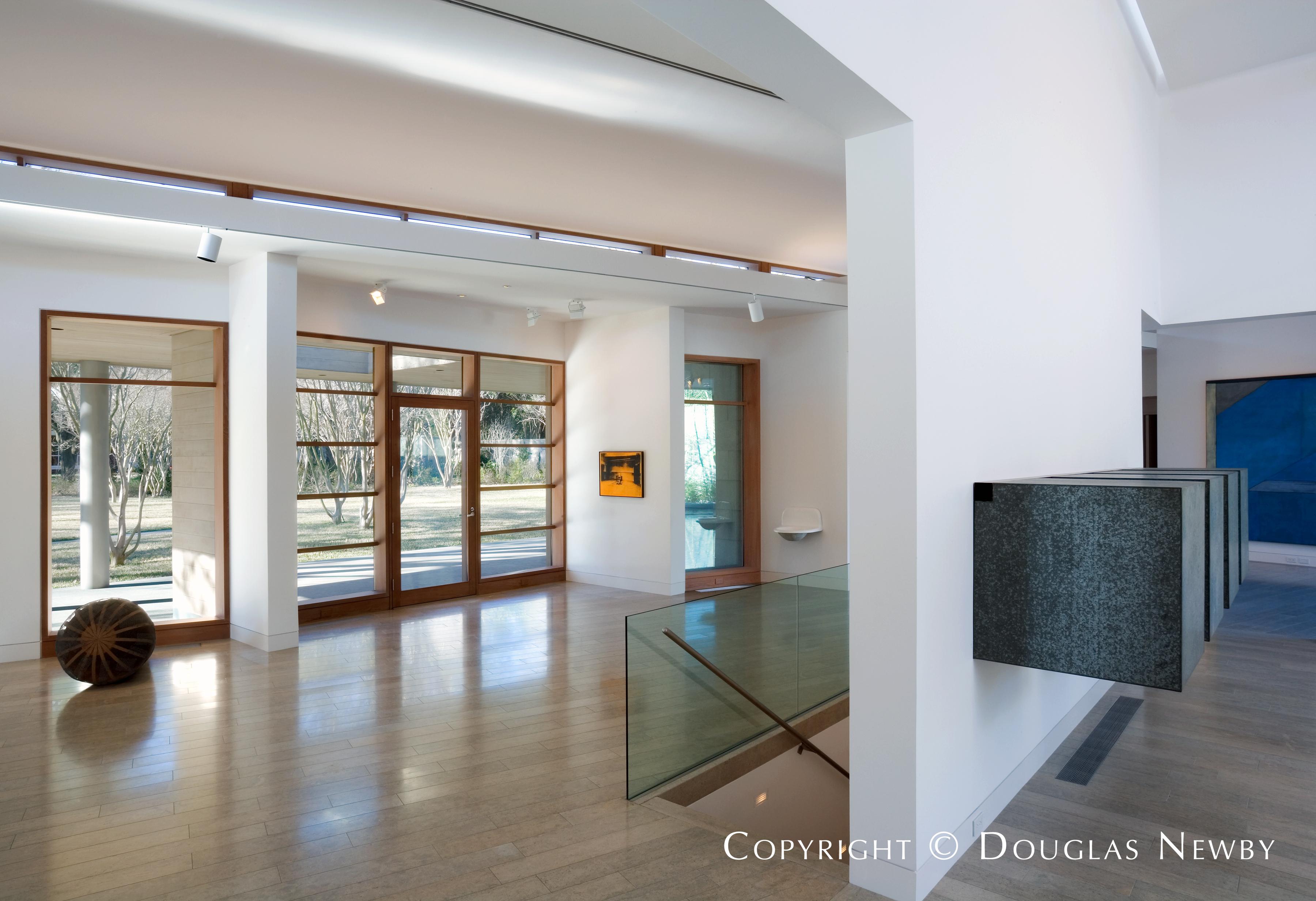 Architect Bill Booziotis Designed Home in Preston Hollow