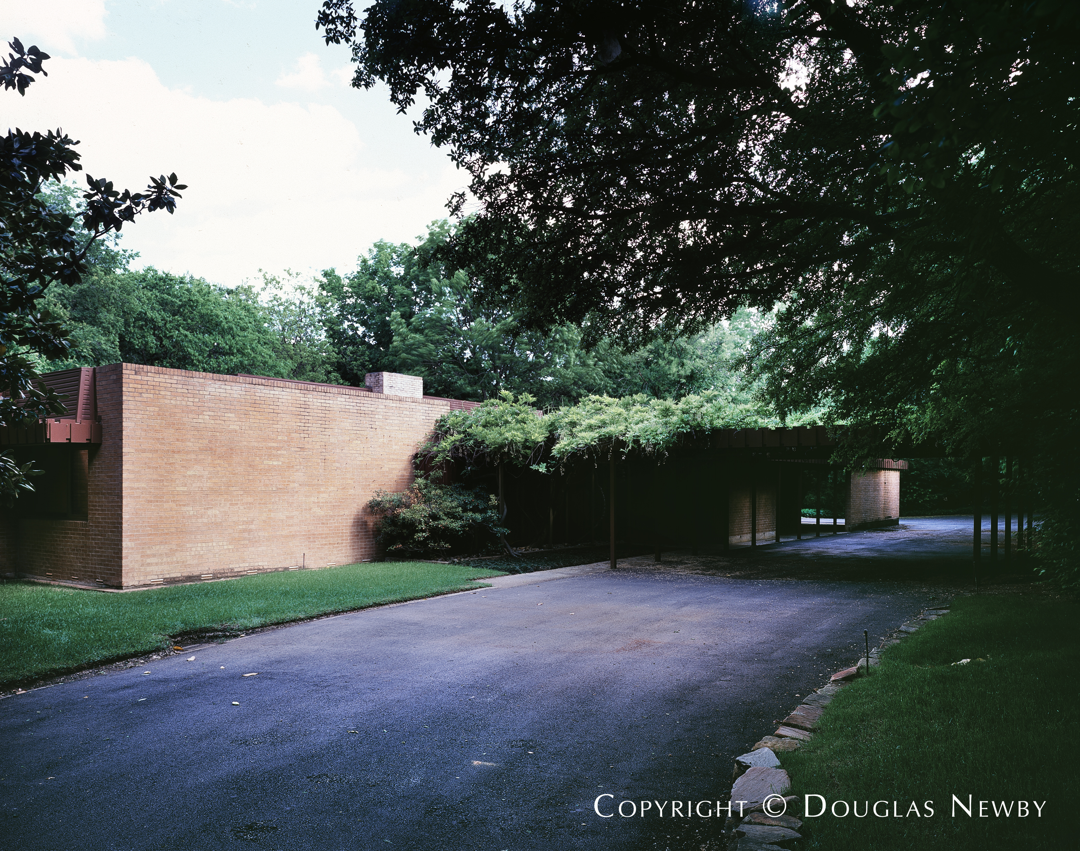 Harwell Hamilton Harris Mid-Century Modern Designed Home in Sunnybrook Estates