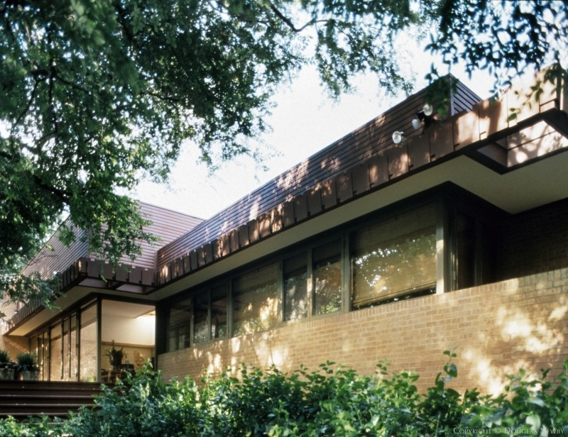 Harwell Hamilton Harris Mid-Century Modern Home built in the 1950s