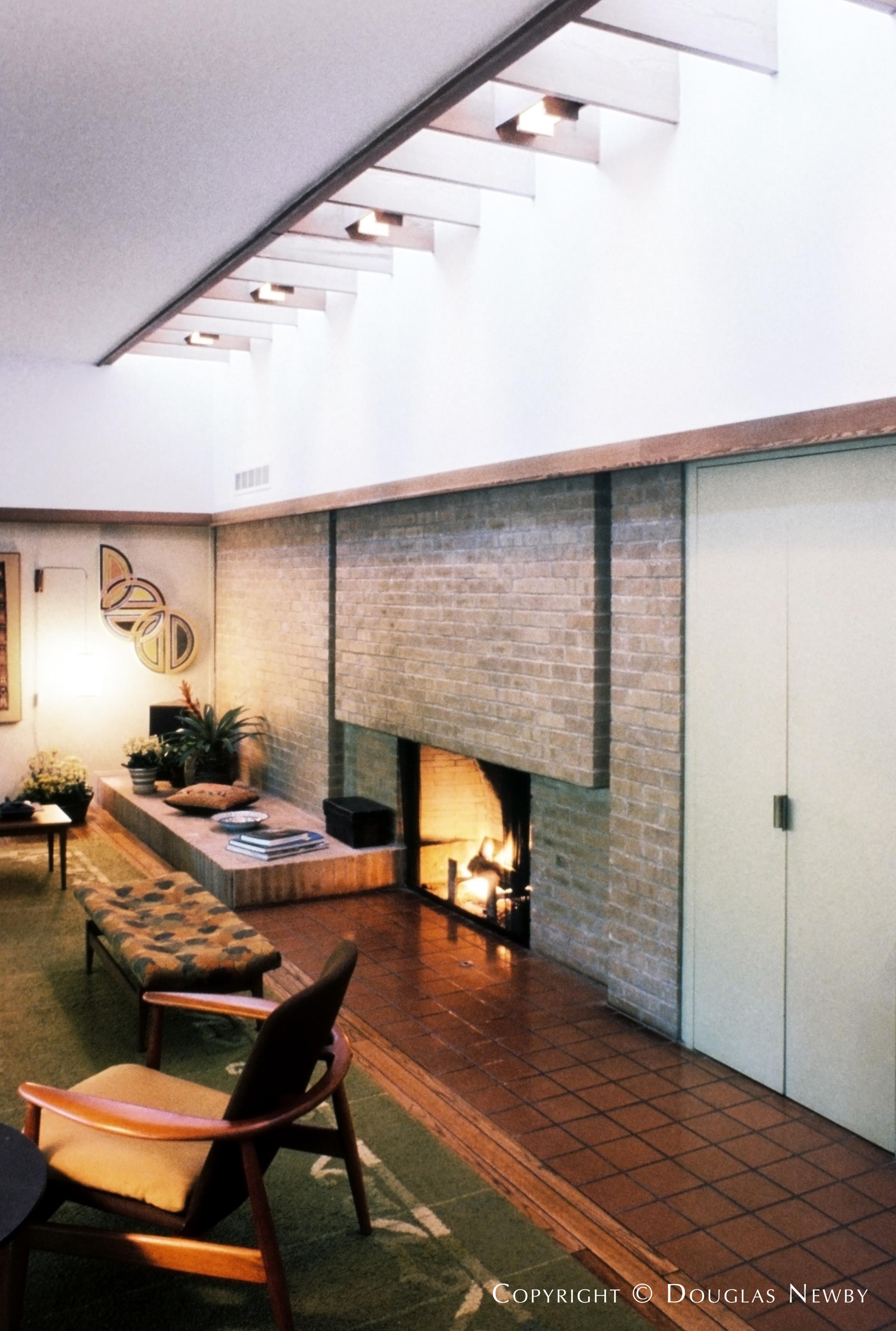 Harwell Hamilton Harris Mid-Century Modern Home built in the 1950s