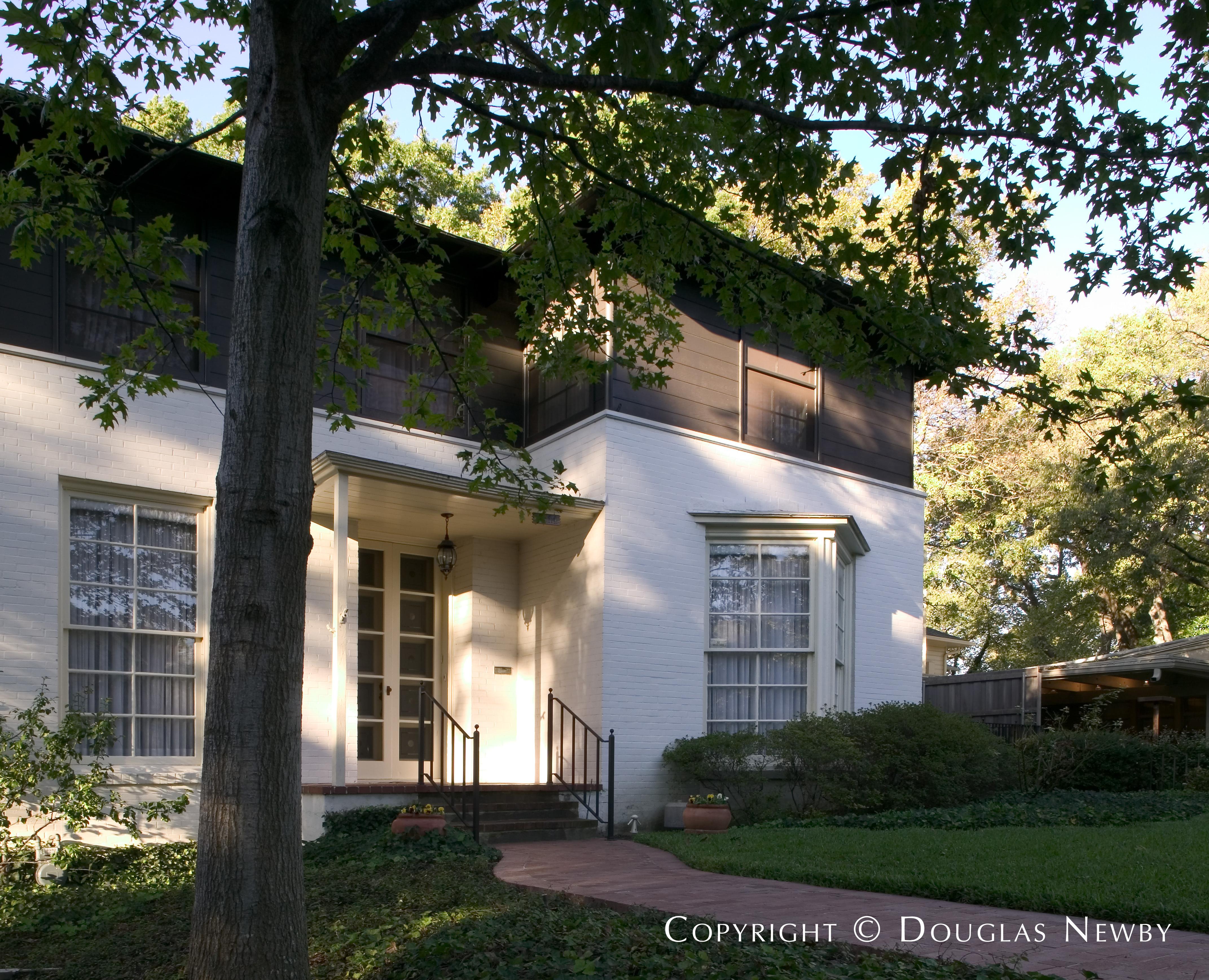 Architect O'Neil Ford Designed Home