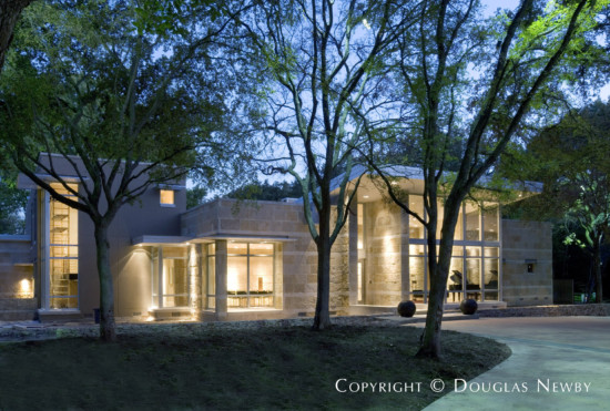 Architect Steve Chambers Designed Texas Modern Estate Home