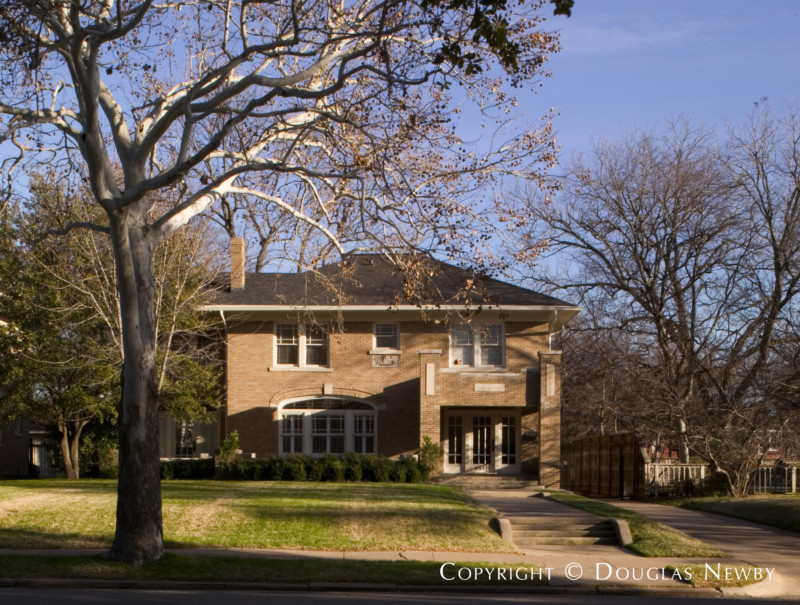 Architect Brian Keith Designed Home in Munger Place and Swiss Avenue