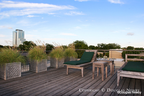 Deck of Architect Lionel Morrison Design Home