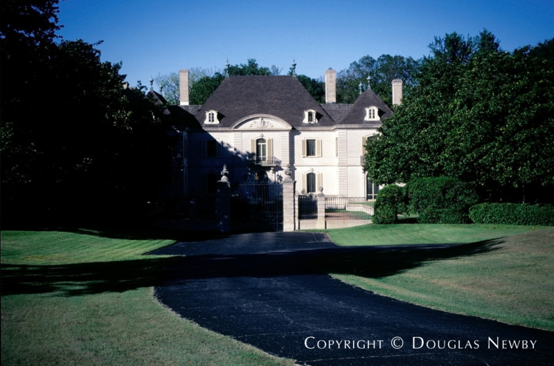 French Chateau Real Estate in Mayflower Estates