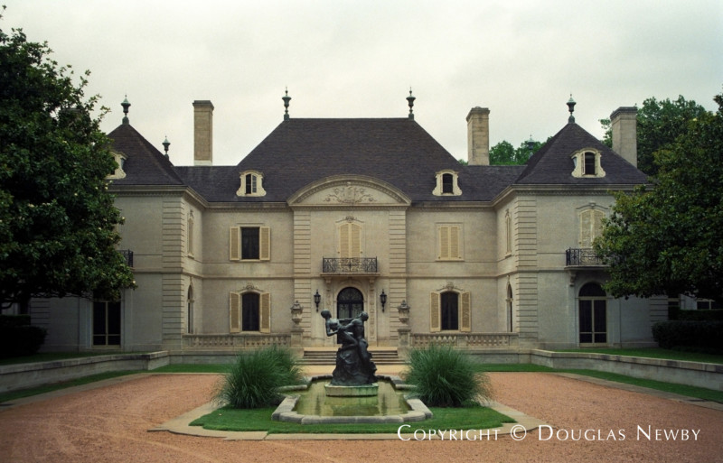 Preston Hollow French Chateau Real Estate on 11.23 Acres