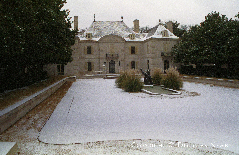 French Chateau Mayflower Estates Neighborhood Home
