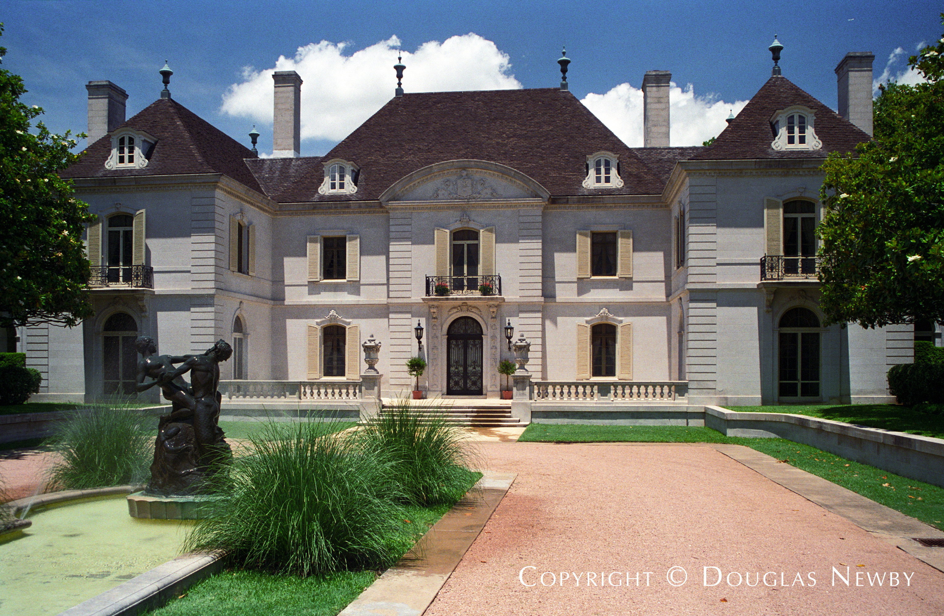 Maurice Fatio French Chateau Designed Home in Mayflower Estates