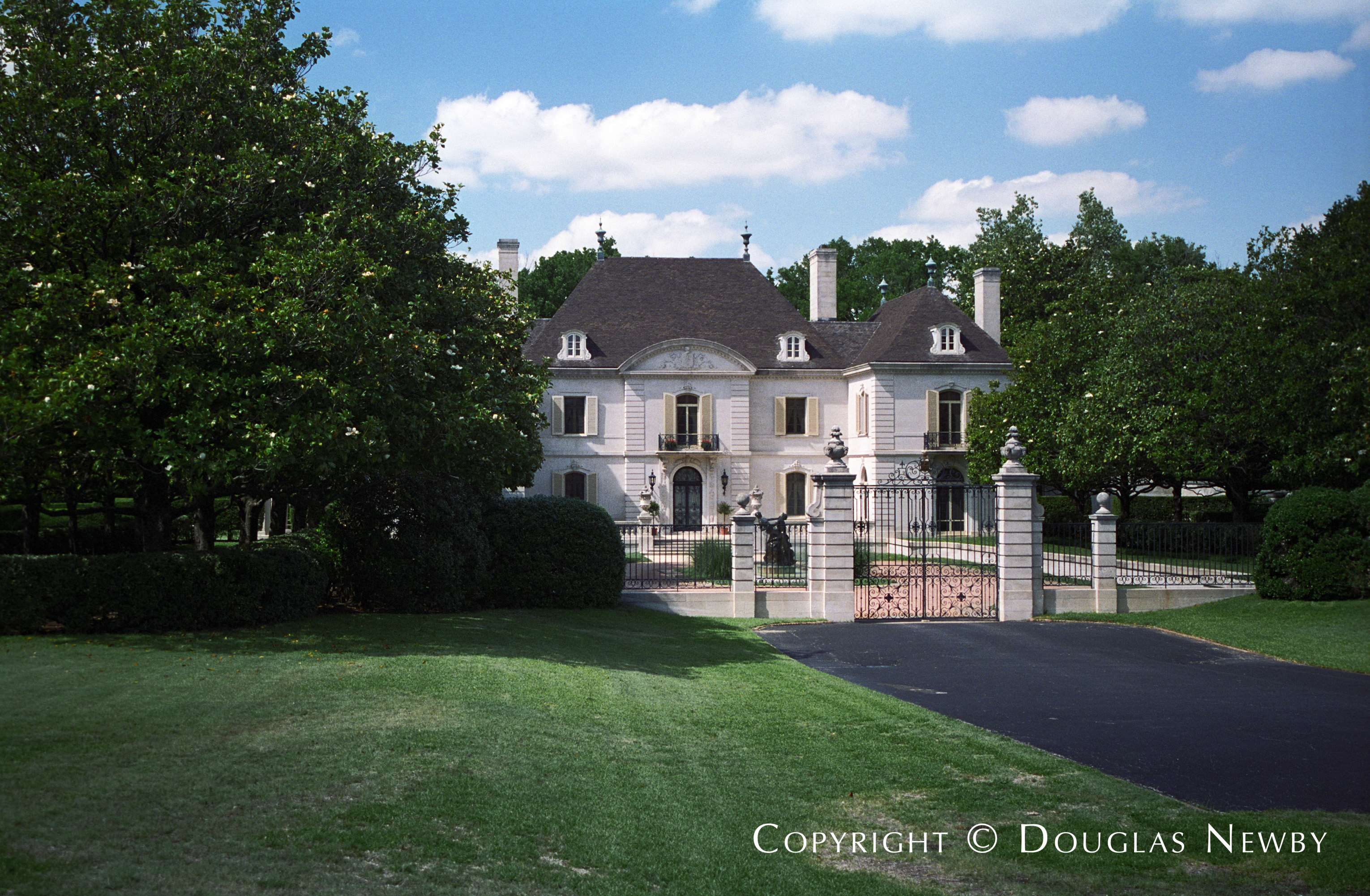 French Chateau Mayflower Estates Real Estate