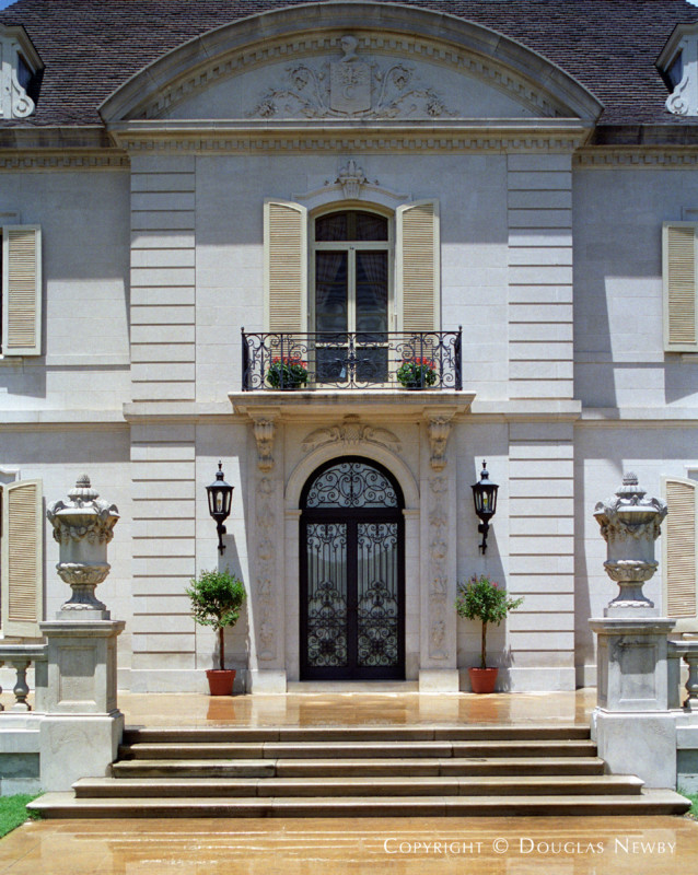 Architect Maurice Fatio Designed French Chateau Home in Preston Hollow