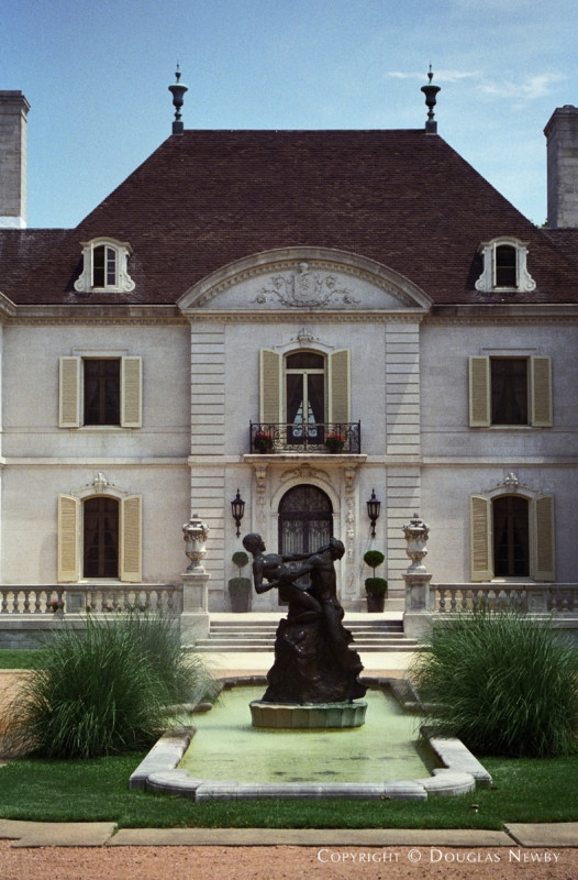 French Chateau Preston Hollow Real Estate