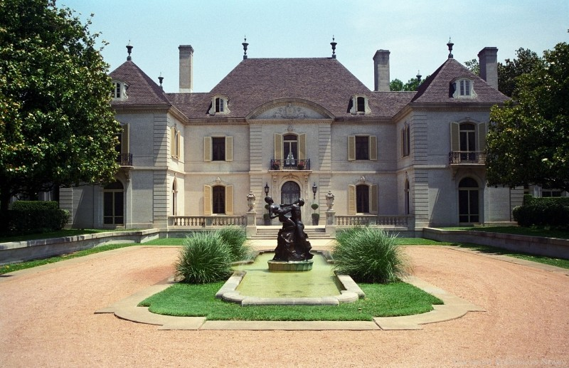 Dallas texas french chateau home photograph 4540 for Chateau house plans