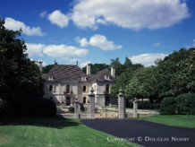 Significant French Chateau Estate Home Designed by Architect Maurice Fatio - The Crespi Estate