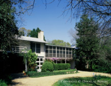 Significant Early Texas Modern Estate Home Designed by Architect O'Neil Ford - 3201 Wendover Road